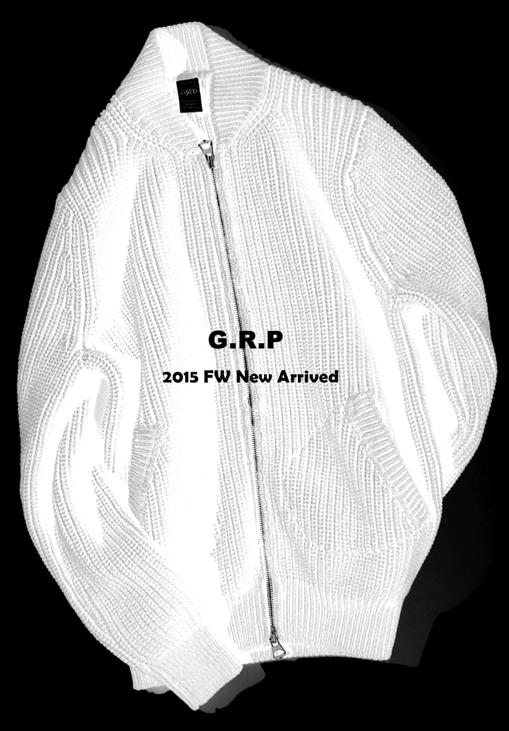 G.R.P Knit Wear 15 FW New