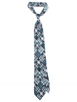 Spalla  Sfoderato Patchwork 8.5cm Cotton Tie with AM.WE