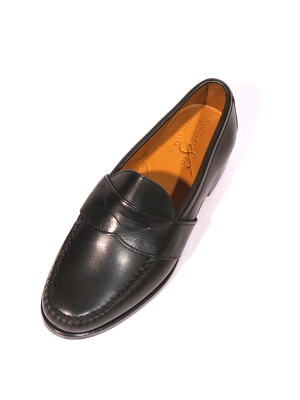 Rancourt&Co. Weltline Penny Loafer - Black
