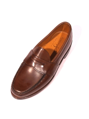 Rancourt&Co. Weltline Penny Loafer - Dark Brown