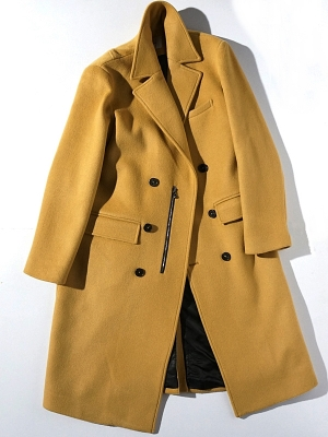 synopsis Double Breast 7pl Coat - Beige