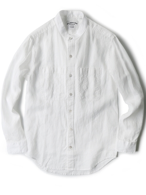 AAS White Solid Shirts - DE17