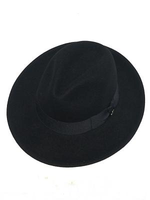 Ecua-andino Felt Hat Indiana -Black