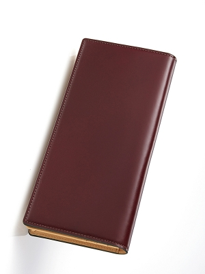 Sacco Long Wallet - Burgandy