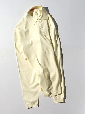 Andersen Andersen Polo Long Sleeve - Off White