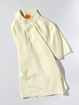 Andersen Andersen Polo Shot Sleeve - White