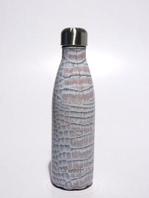 Swell Bottle 17oz Blanc Crocodile