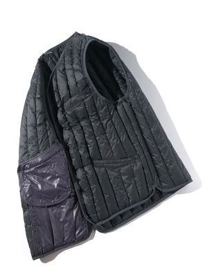 Eastlogue Shield Lightweight Down Vest - Gray