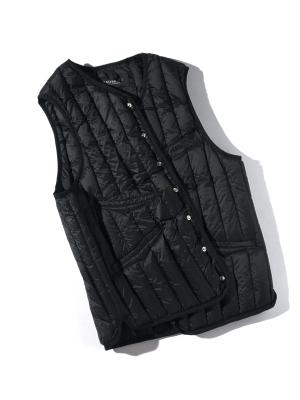 Eastlogue Shield Lightweight Down Vest - Black