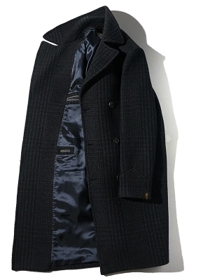 Palto Achille Coat - Dark Navy