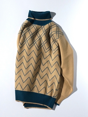 Haversack Attire Cashmere Turtleneck Knit - 431701