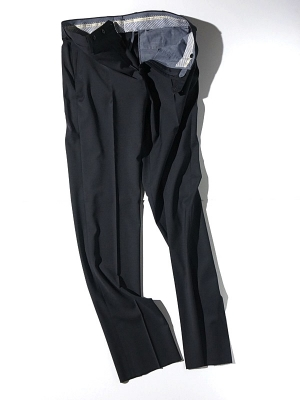Germano 345 4606 Travel Line Slacks - Navy