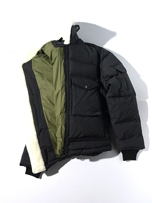 Eastlogue G-8 Flight Down Jumper -Black