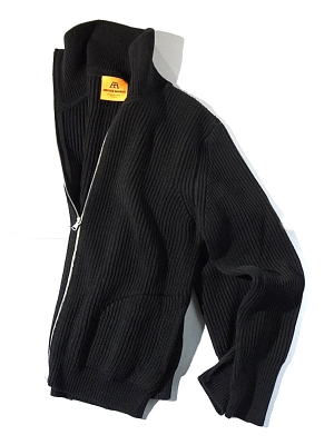 Andersen-Andersen Full Zip - Black