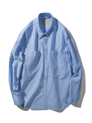 Pottery Oxford Button Down Shirt - Blue