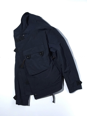 Eastlogue Motorcycle Jacket - Navy Ripstop