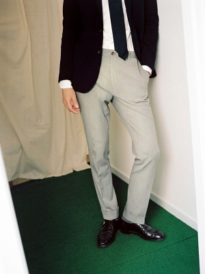 GOTT Travel Trousers Lazist - Grey