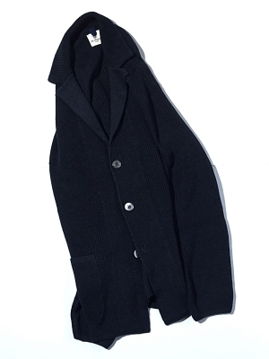 Mc Lauren Garrison Knit Jacket - Navy