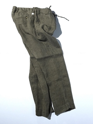 Man1924 Pants 1903 - Khaki Houndstooth