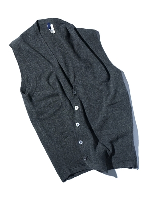 Mc Lauren Brae Knit Vest - Charcoal