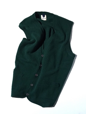 Mc Lauren Brae Knit Vest - Green