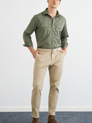 Rise and Below 248 Chions Pants - Khaki