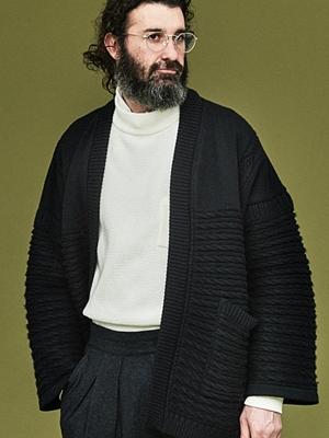Yashiki Hanten Knit -Black