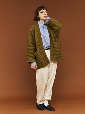 Yashiki Hanten Knit - Ocher