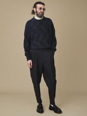 Yashiki Fubuki Knit - Navy