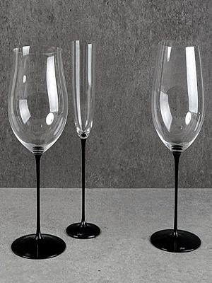 Riedel Sommelidrs Blacktie Wine Glass