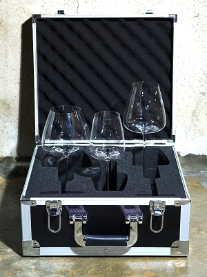 Zieher Wine Glass Hard Cases -  Limited Edition