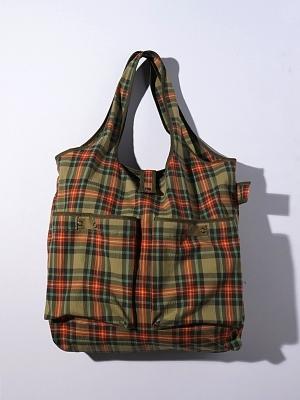 Eastlogue Wagon Bag - Beige Multi Check