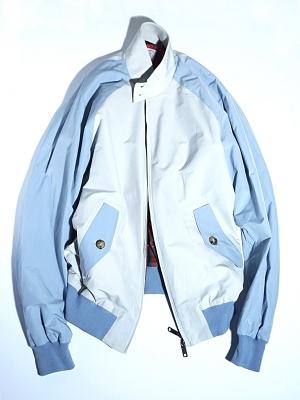 Baracuta G9 Colour Block Jacket - Mist