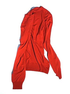 Morgano Crew Neck Knit - Red