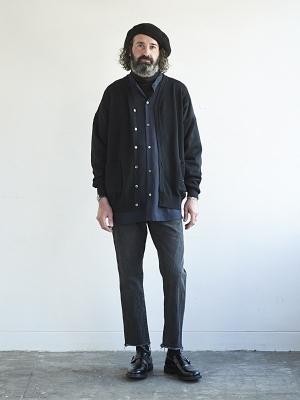 Yashiki Tsukiya Cardigan -Black