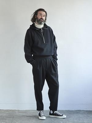 Sayatomo Hakama Twead Pants - Black